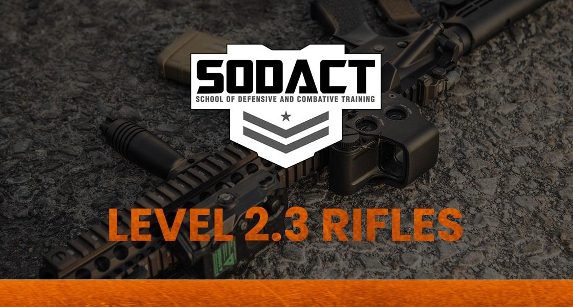 defensive rifle class